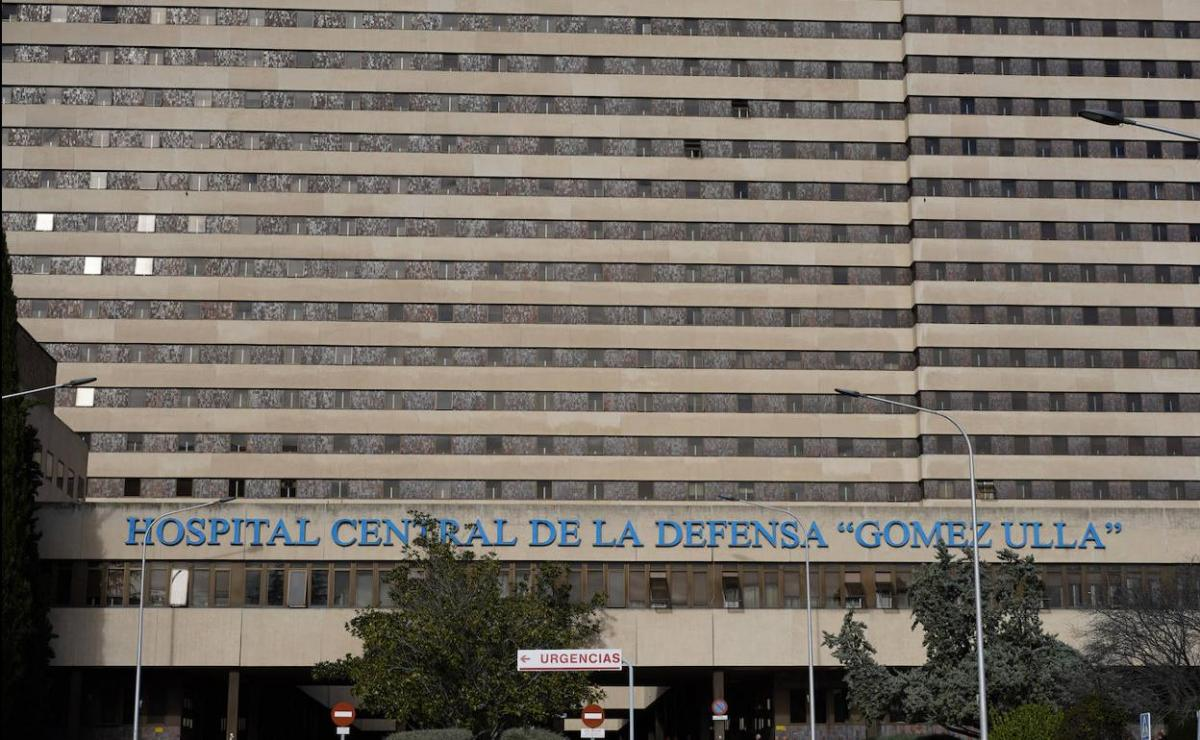 Hospital Gómez Ulla, en Madrid