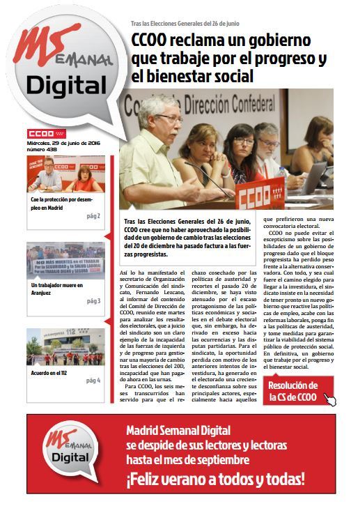 Madrid Semanal Digital Nº 438