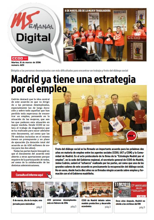 Madrid Semanal Digital Nº 423