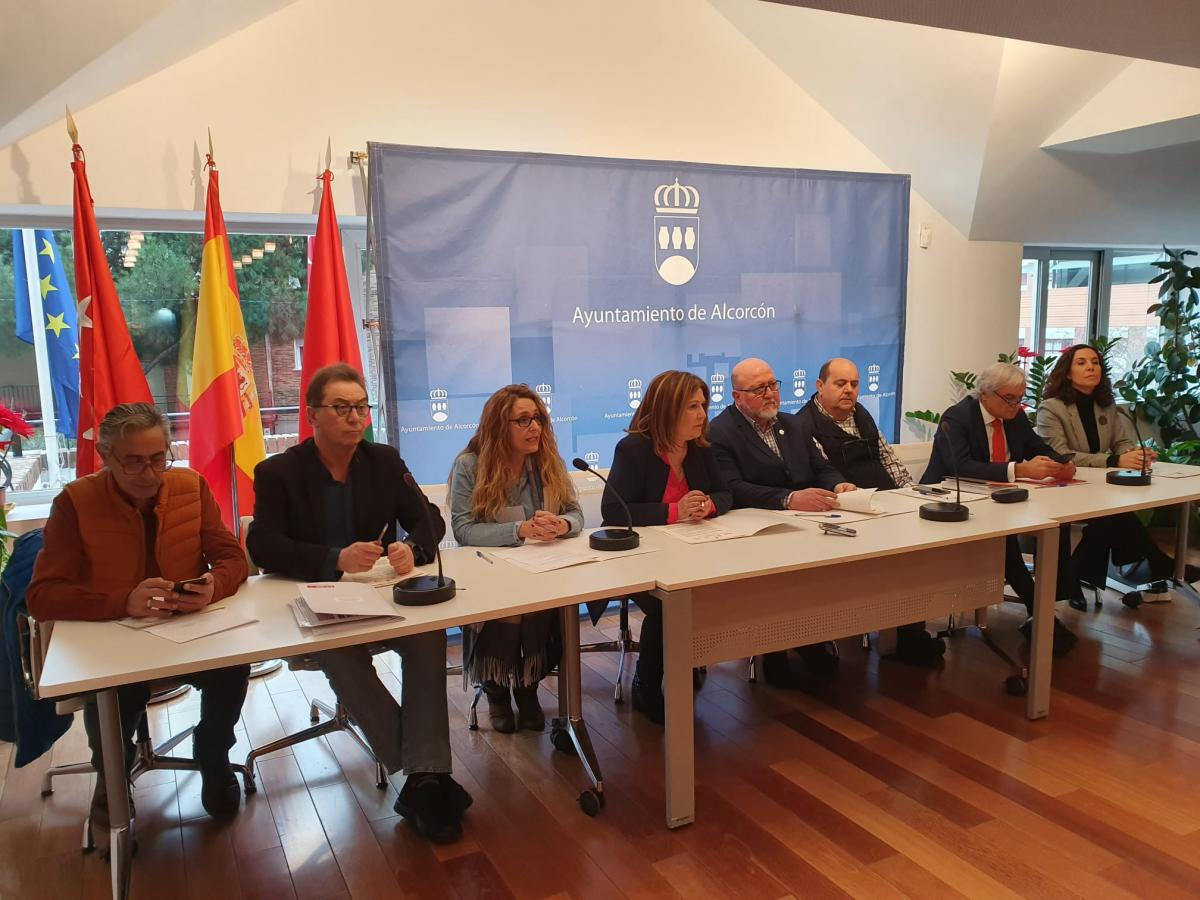 Firmantes del Pacto Local de Alcorcón