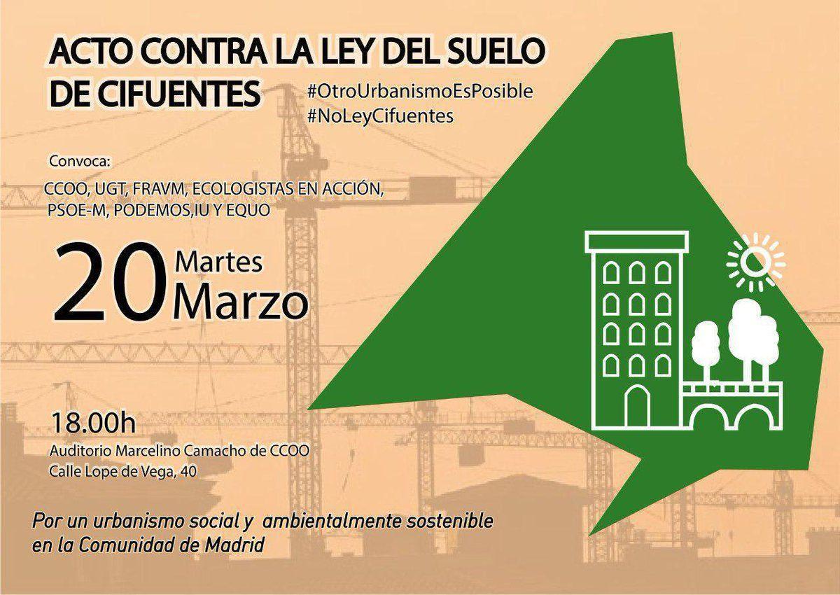 comisiones obreras de Madrid-