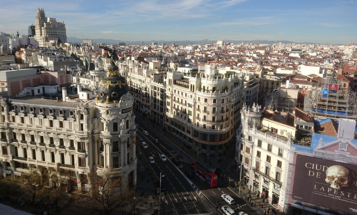 Vista de Madrid