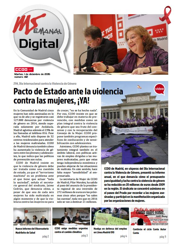 Madrid Semanal Digital Nº 412