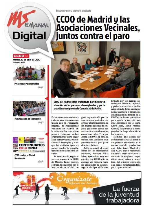 Madrid Semanal Digital Nº 427