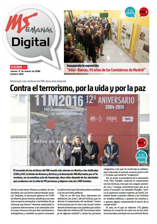 Madrid Semanal Digital nº 424