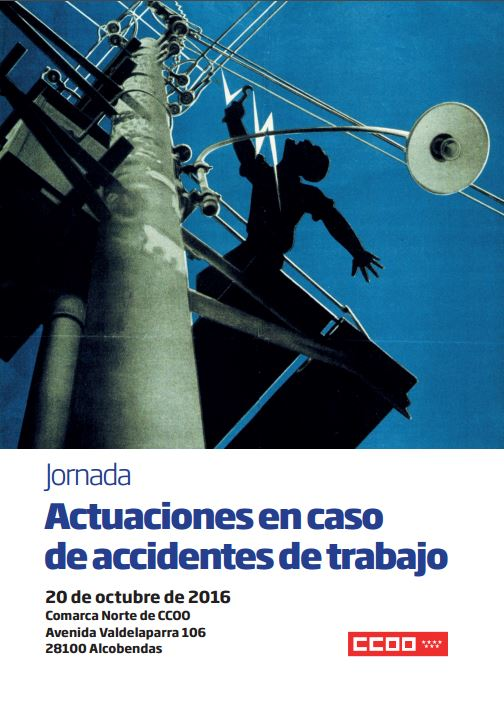 Jornada accidentes trabajo alcobendas