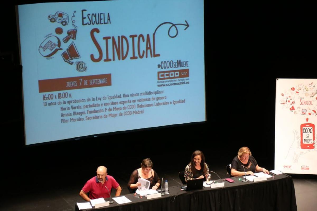 Escuela Sindical de CCOO Madrid 2017