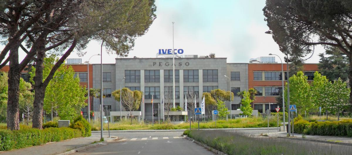 Factoria de IVECO en Madrid