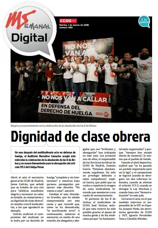 Madrid Semanal Digital Nº 422