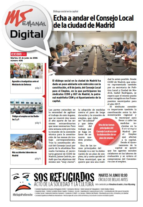 Madrid Semanal Digital Nº 436