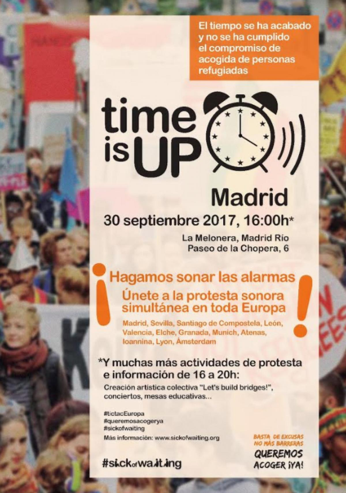 ¡El tiempo se ha acabado! / ¡Time is up!