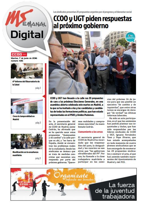 Madrid Semanal Digital Nº 435
