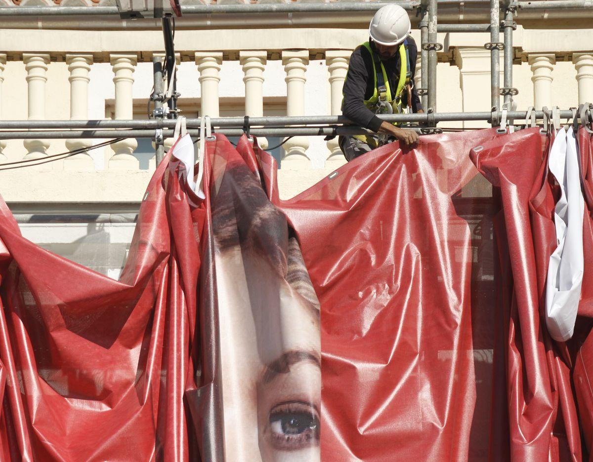Obrero en Madrid