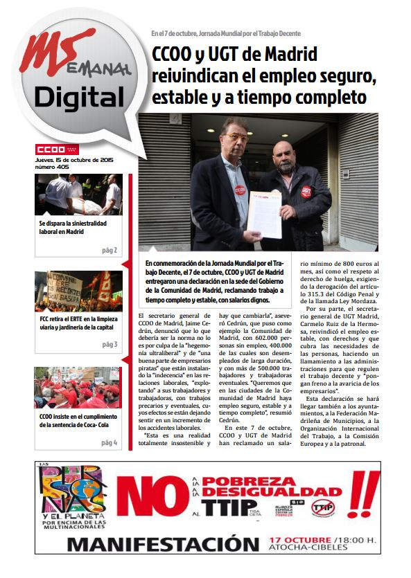 Madrid Semanal Digital Nº 405