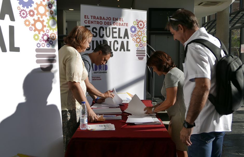 Escuela Sindical 2017 de CCOO de Madrid