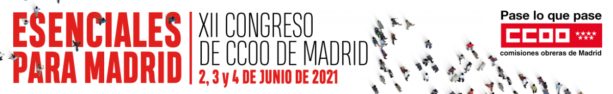Congreso CCOO Madrid