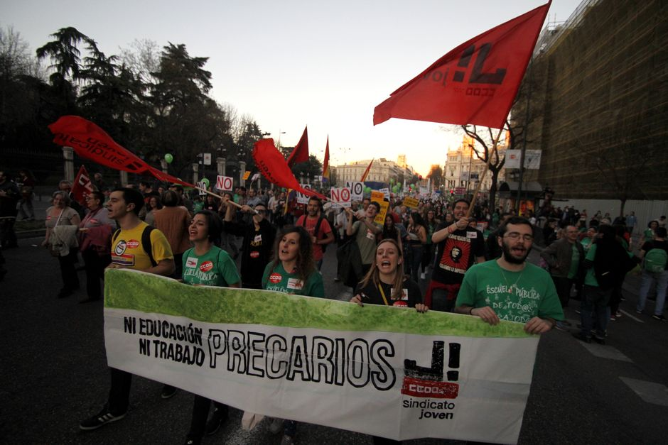 Huelga general educativa contra la LOMCE, 9 marzo 2017