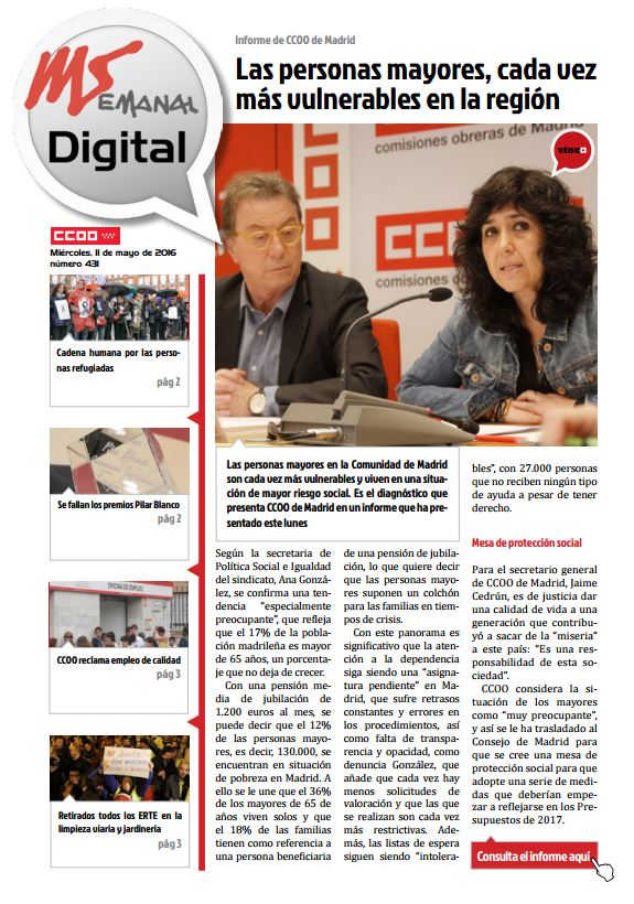 Madrid Semanal Digital Nº 431
