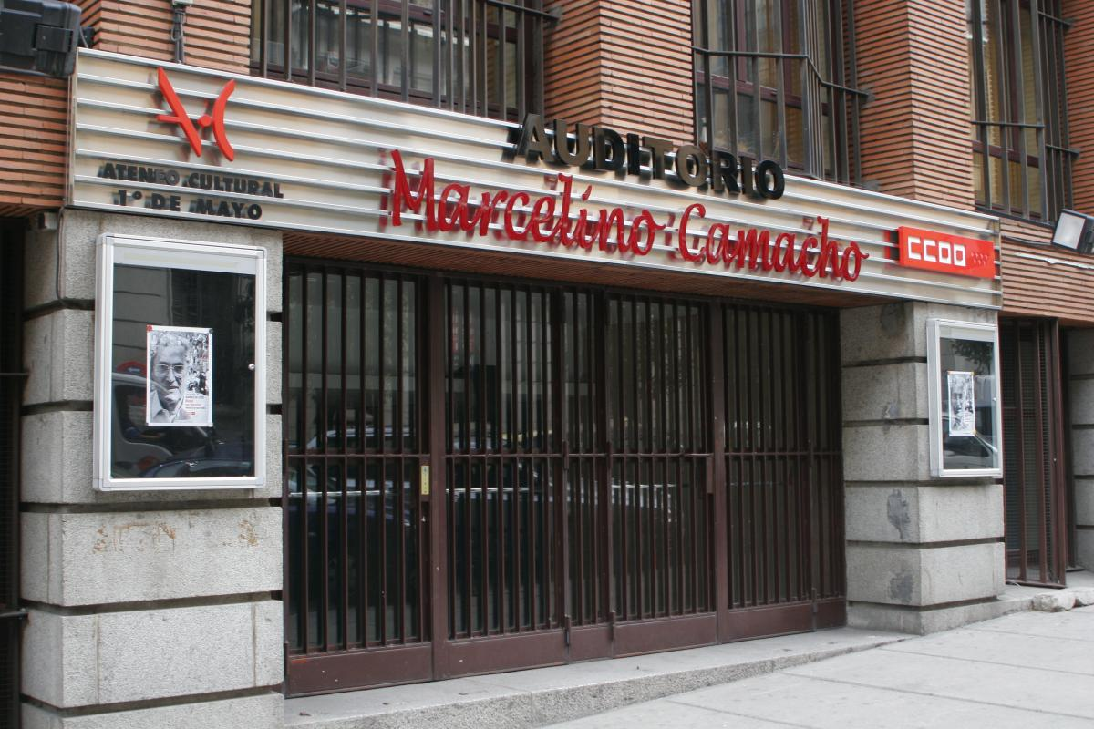 Auditorio Marcelino Camacho
