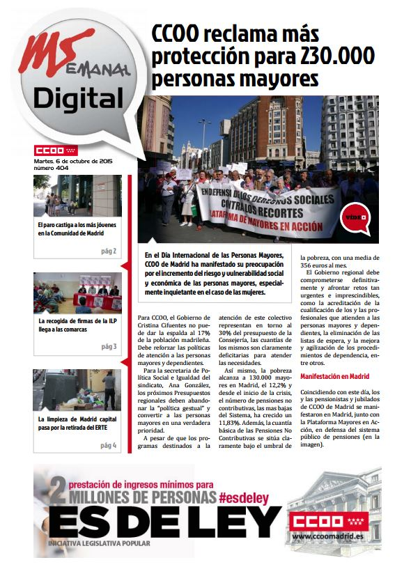MADRID SEMANAL DIGITAL Nº 404