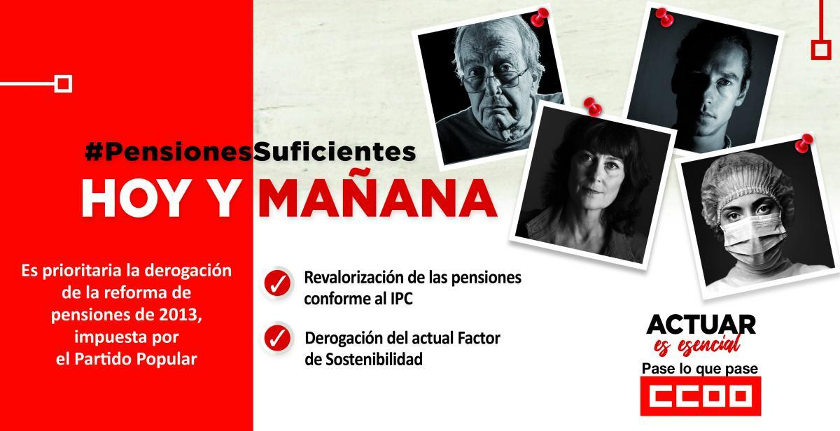 #PENSIONESSUFICIENTES