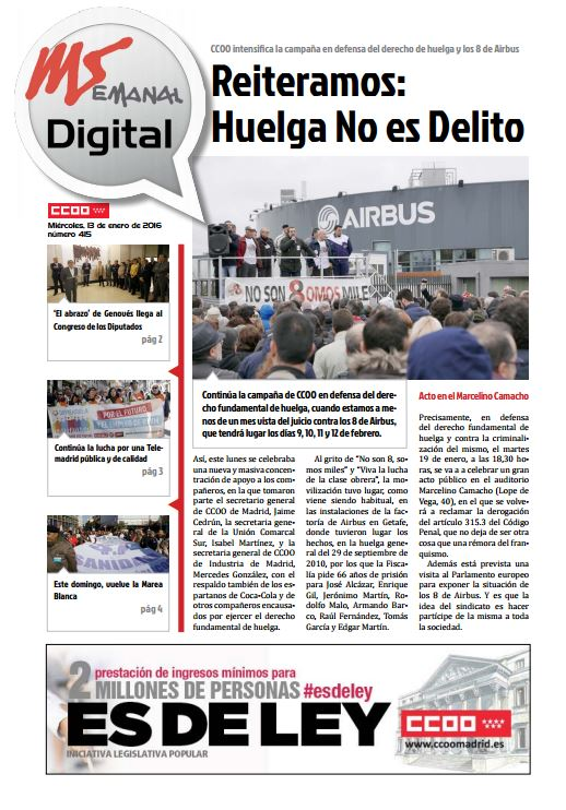 Madrid Semanal Digital nº 415